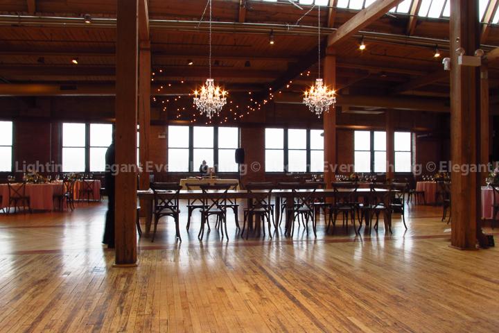Crystal Chandeliers   Bridgeport Art Center