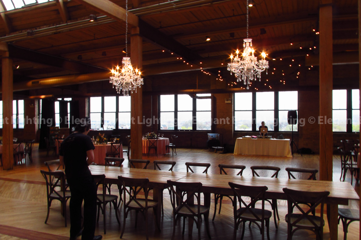 Crystal Chandeliers | Bridgeport Art Center