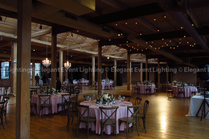 Crystal Chandeliers & Cafe Globe Lighting | Bridgeport Art Center
