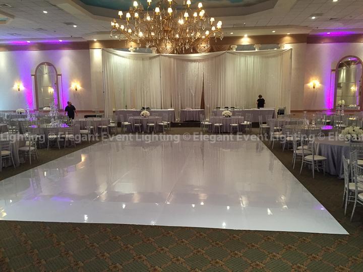 White Dance Floor | Meridian Banquets