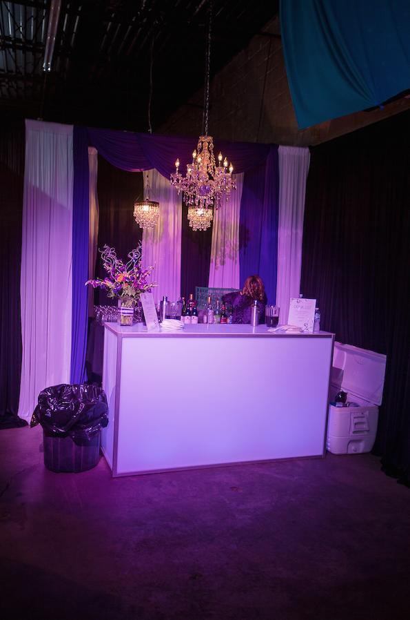 Revel Decor Light Up Bar | Photo Courtesy Just Love Me Photography
