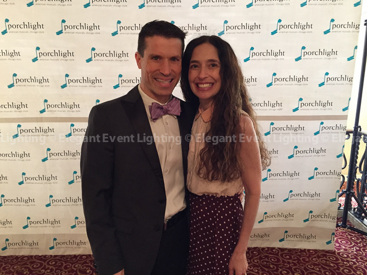 Jay & Tamara at Porchlight ICONS Gala