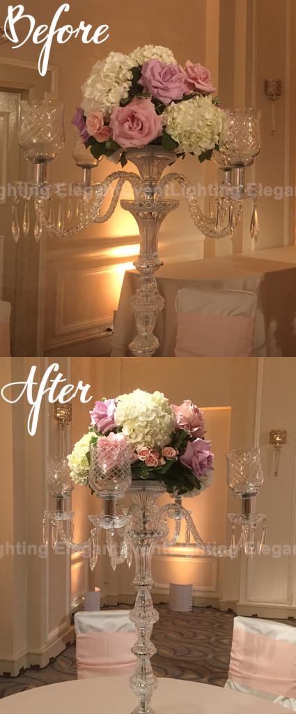 Before & After Pinspots | Hilton Orrington