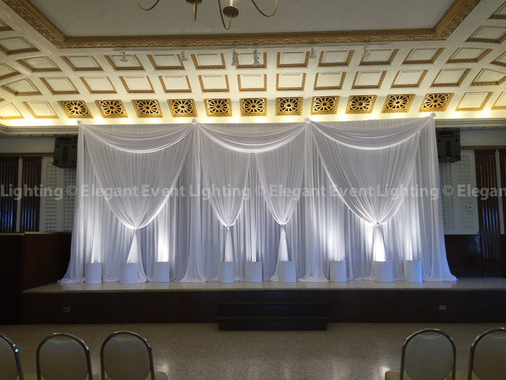 Wedding Ceremony Backdrop | Dank Haus German American Cultural Center