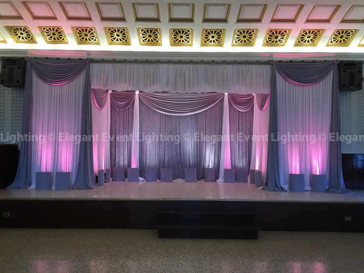 Crystal Curtain Backdrop | Dank Haus German American Cultural Center