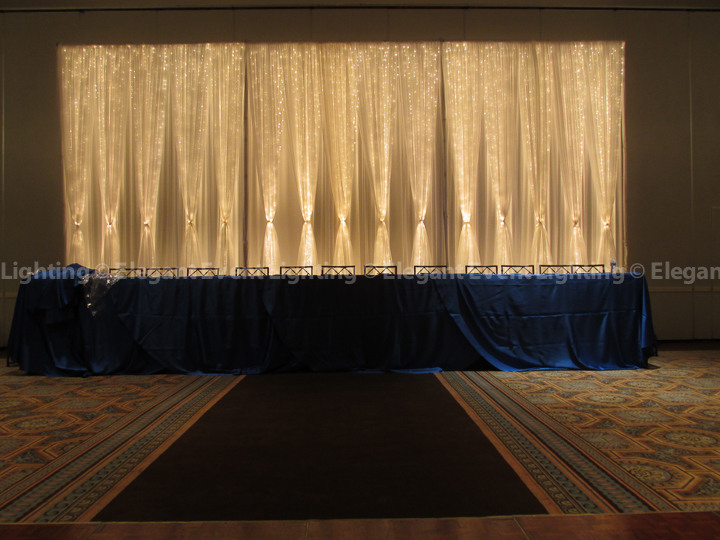 Fairy Lighting Wedding Backdrop | Drury Lane