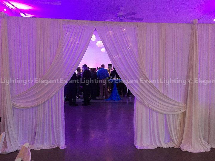 Drape Entrance & Partition Wall | Prairie Production