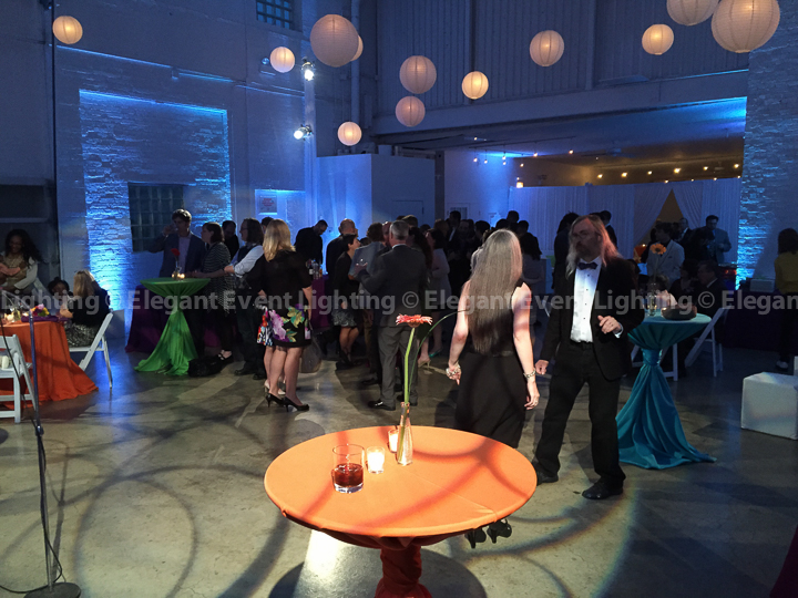 Dance Floor Pattern Lighting & Uplighting | Prairie Production