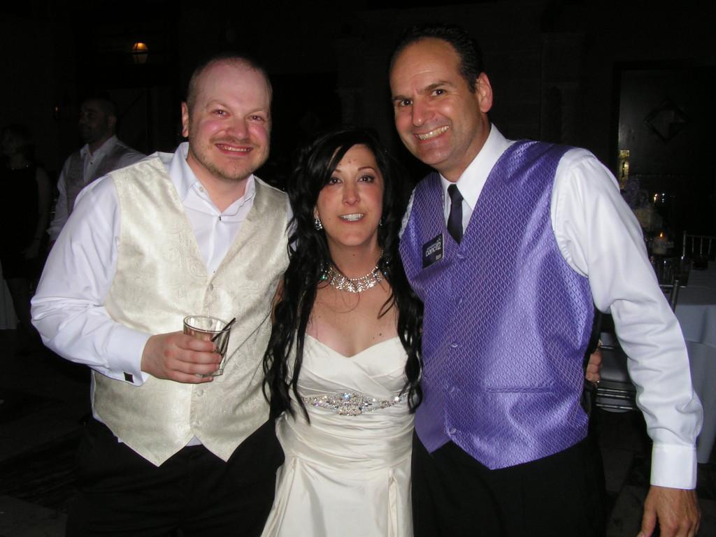 Lisa & Dan Finley with DJ Ron Fiedler   Something 2 Dance 2