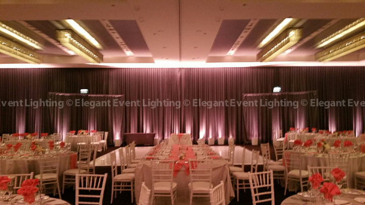 Room Uplighting | Ballroom - Hotel Arista
