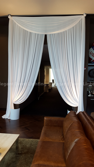 Illuminated Entrance Draping | Hotel Arista