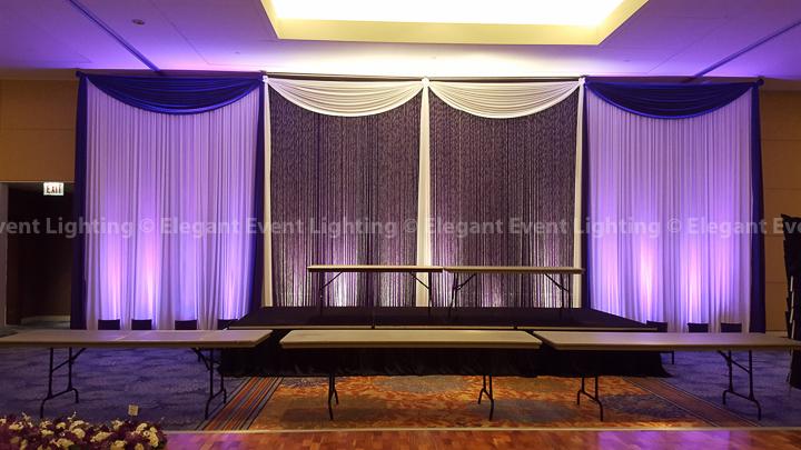 Crystal Curtain Backdrop | Renaissance Schaumburg