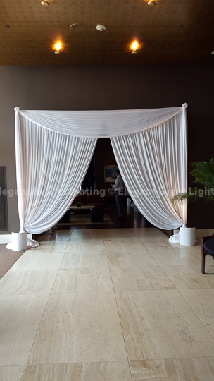 Drape Entrance | Hotel Arista