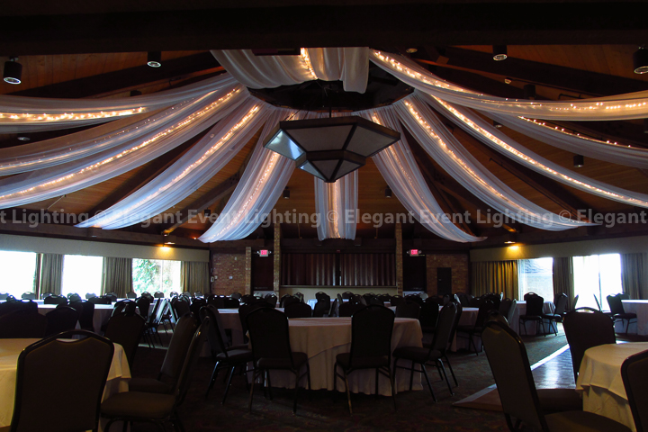 Starburst Ceiling Canopy | Trillium Ballroom - Indian Lakes Resort
