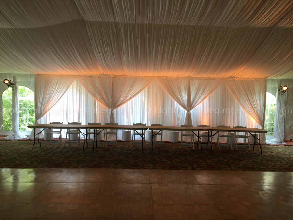 Head Table Backdrop | Eaglewood Resort