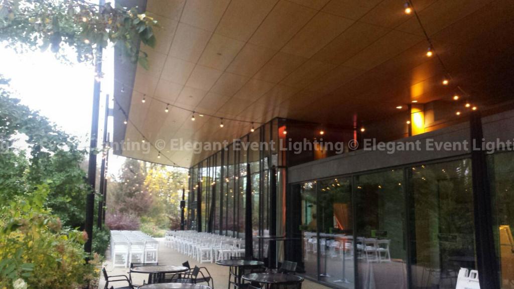 Cafe Globe Lights | Morton Arboretum