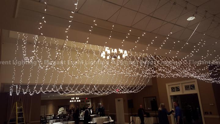 Fairy Light Ceiling Canopy Arrowhead Golf Club