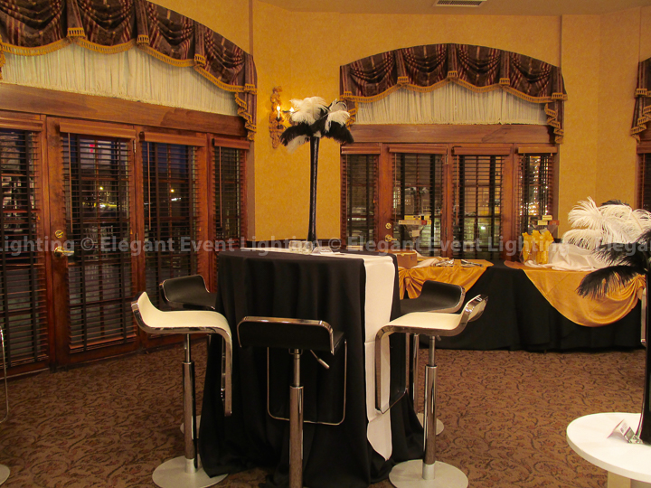 Black & White Bar Stools | Herrington Inn