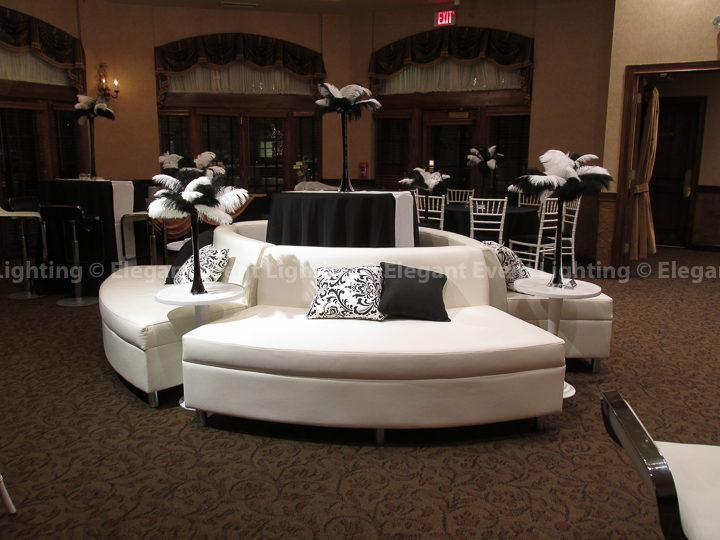 White Lounge Furniture | Herrington Inn