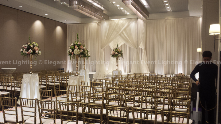 Wedding Draping & Bridal Canopy | Hotel Arista