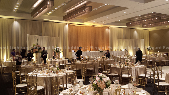 Crystal Curtain Backdrop | Hotel Arista
