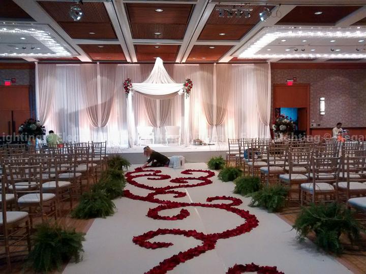 Mandap & Ceremony Backdrop | Hyatt Lodge