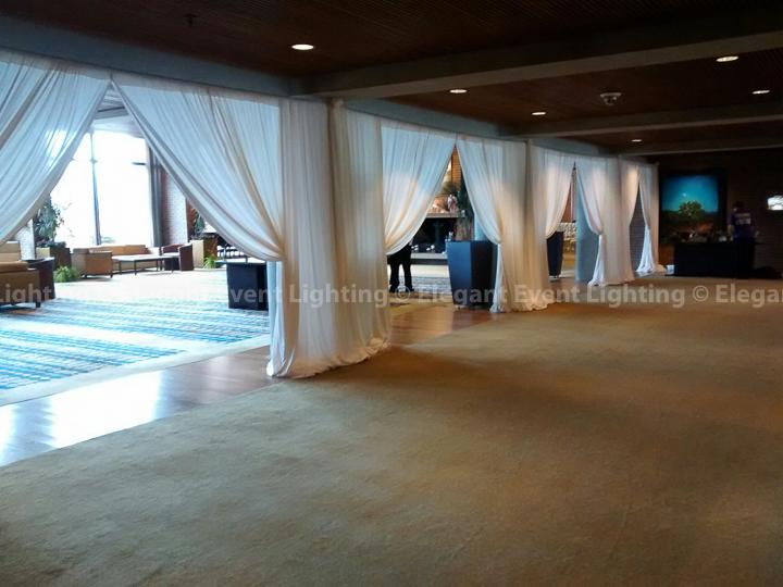 Drape Wall & Openings | Hyatt Lodge