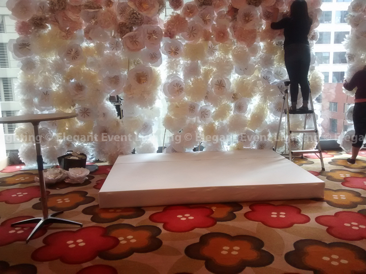 Wedding Ceremony Stage Cover | Hotel Palomar