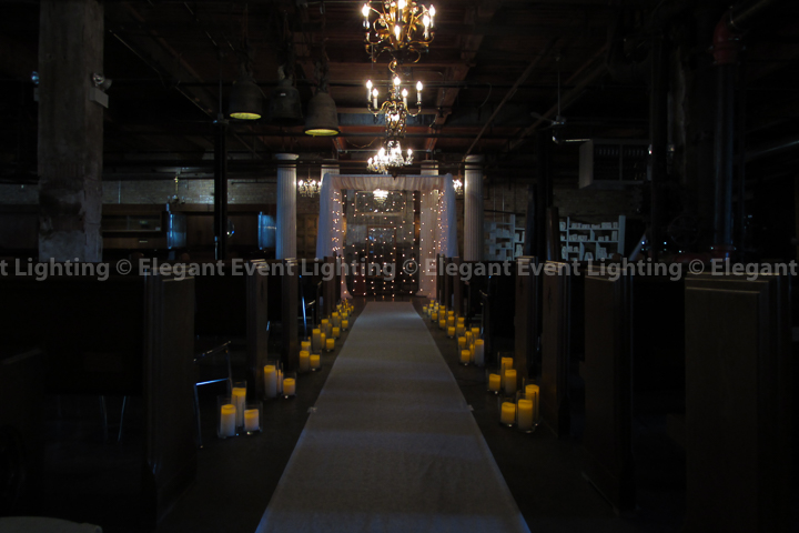 Cafe Lighting Chuppah | Salvage One