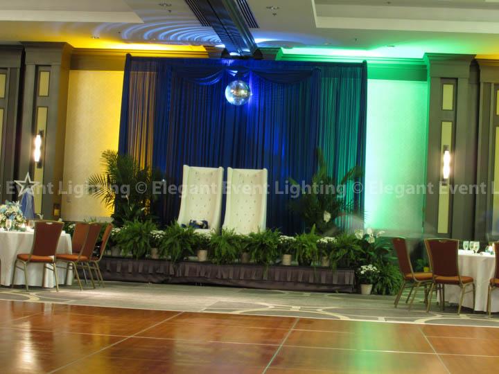 VIP Platform Backdrop | Hilton Oak Brook Hills