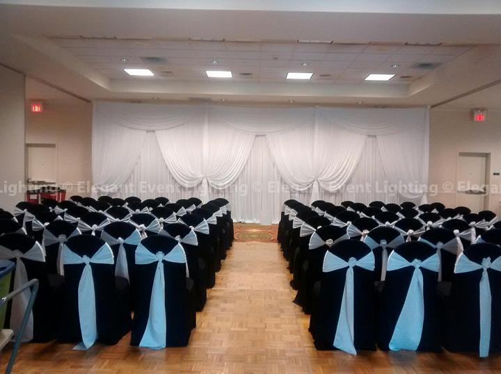 Ceremony Backdrop | Hilton Garden Inn St. Charles