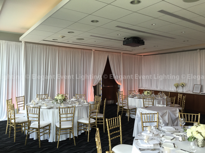Wall Draping & Uplighting | Hotel Arista