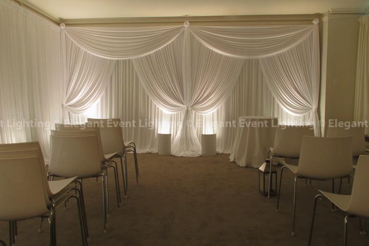 Ceremony Backdrop | Public Hotel