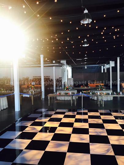 Black & White Dance Floor   Revel Fulton Market