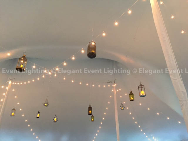 Cafe Lights & Hanging Lanterns | Morton Arboretum