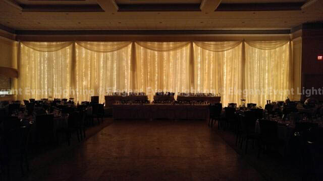 Fairy Light Backdrop | Venuti's