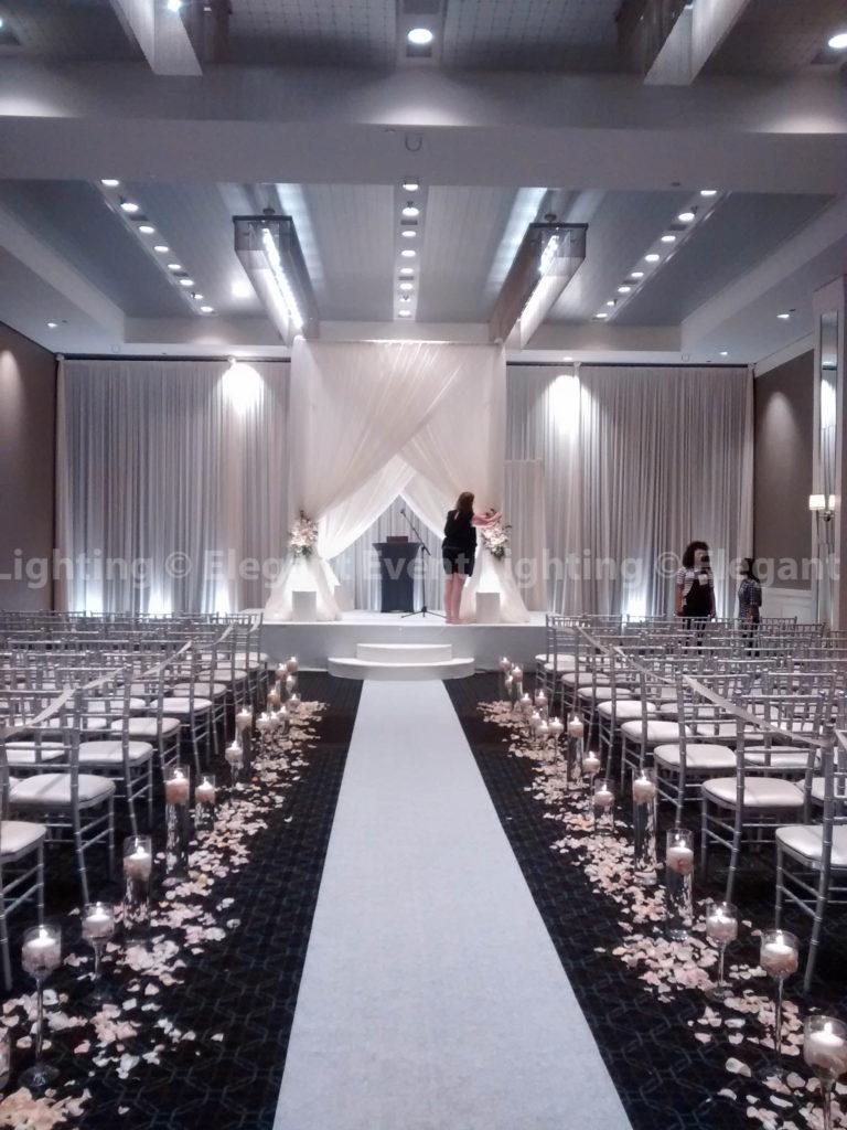 Bridal Canopy & Ceremony Backdrop   Hotel Arista