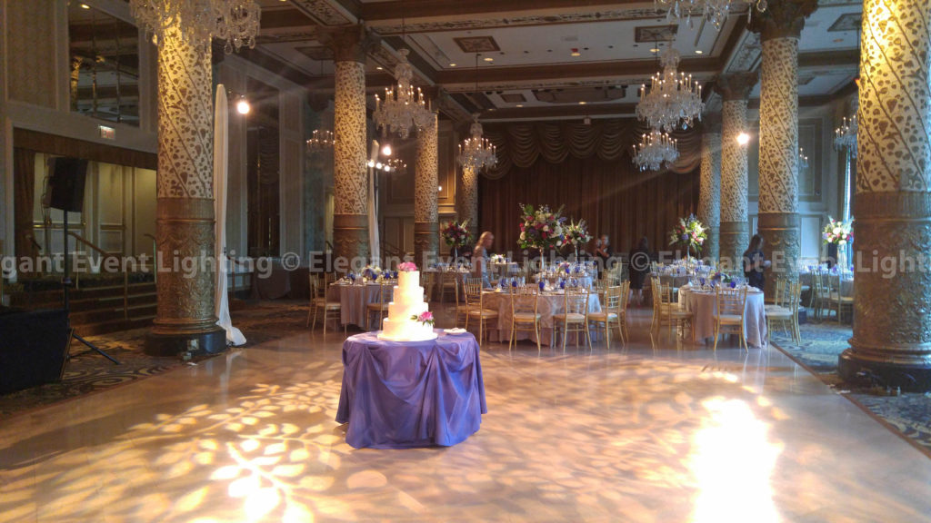 Dance Floor Pattern Lighting | Drake Hotel