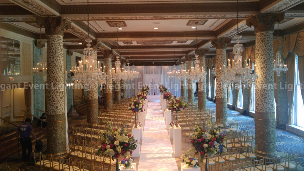 Ceremony Backdrop, Fabric Arch & Aisle Runner | Drake Hotel