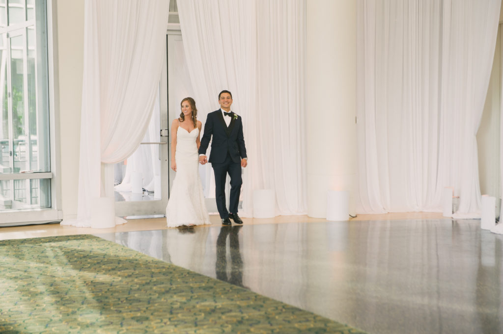 Dramatic Drape Entrance | Esplanade Lakes