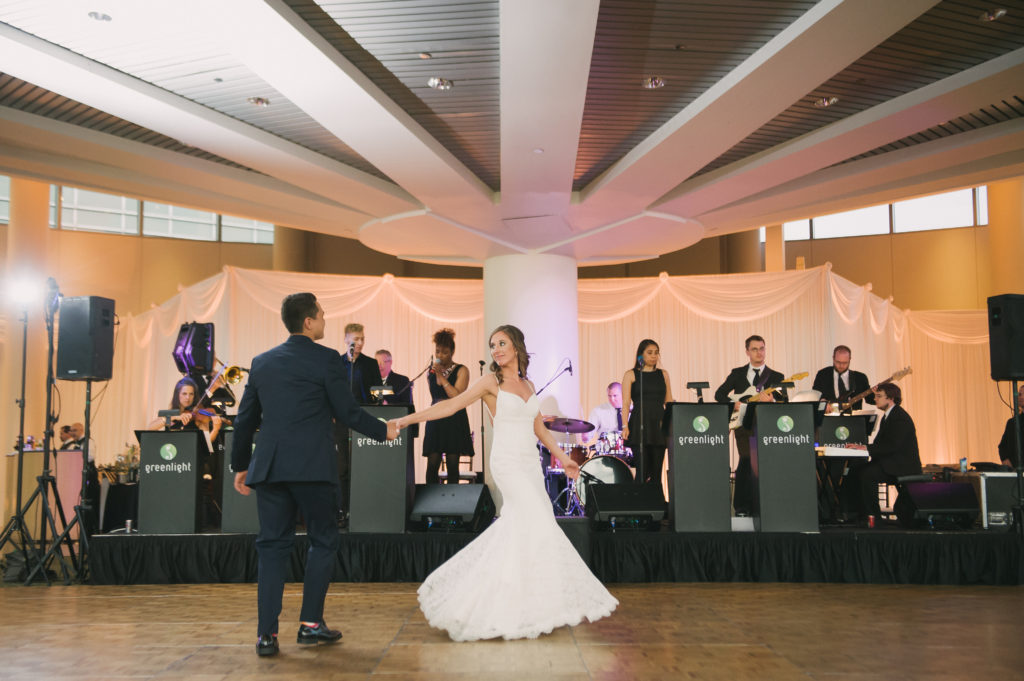 Wall Draping & Amber Uplighting | Esplanade Lakes
