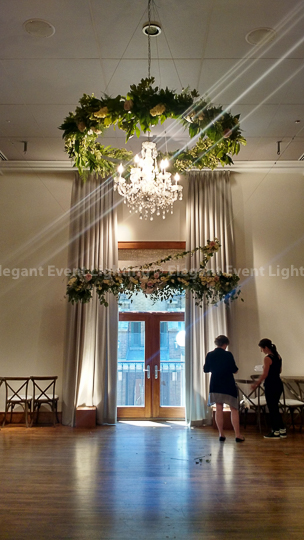 Crystal Chandeliers | The Ivy Room