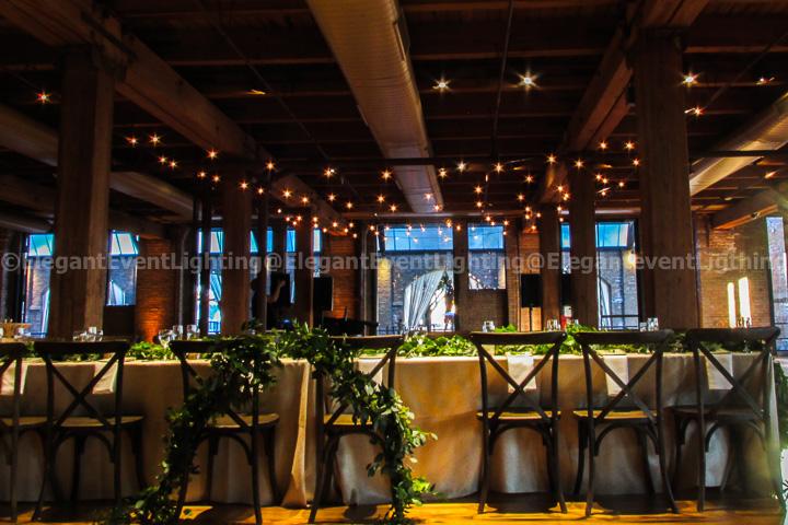 Bridgeport Sculpture Garden Cafe Lights