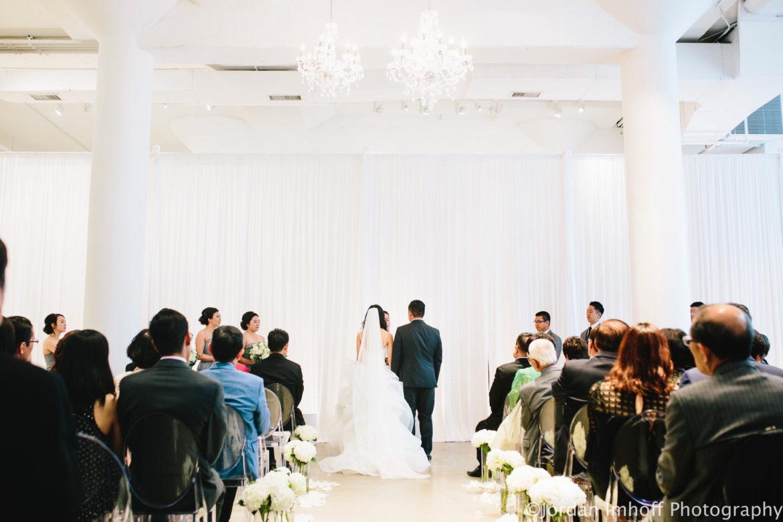 Elegant_Event_Lighting_Chez_Event_Space_Wedding_Chicago_White_Draping_Ceremony