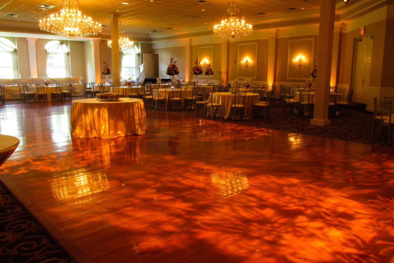 Abbington Pattern Dance Floor Lighting