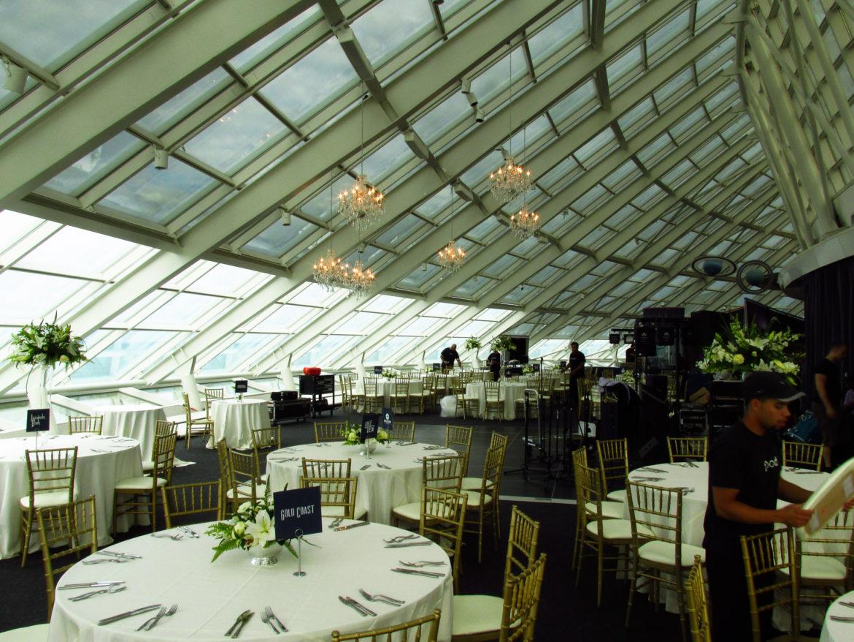 Adler Planetarium Crystal Chandeliers