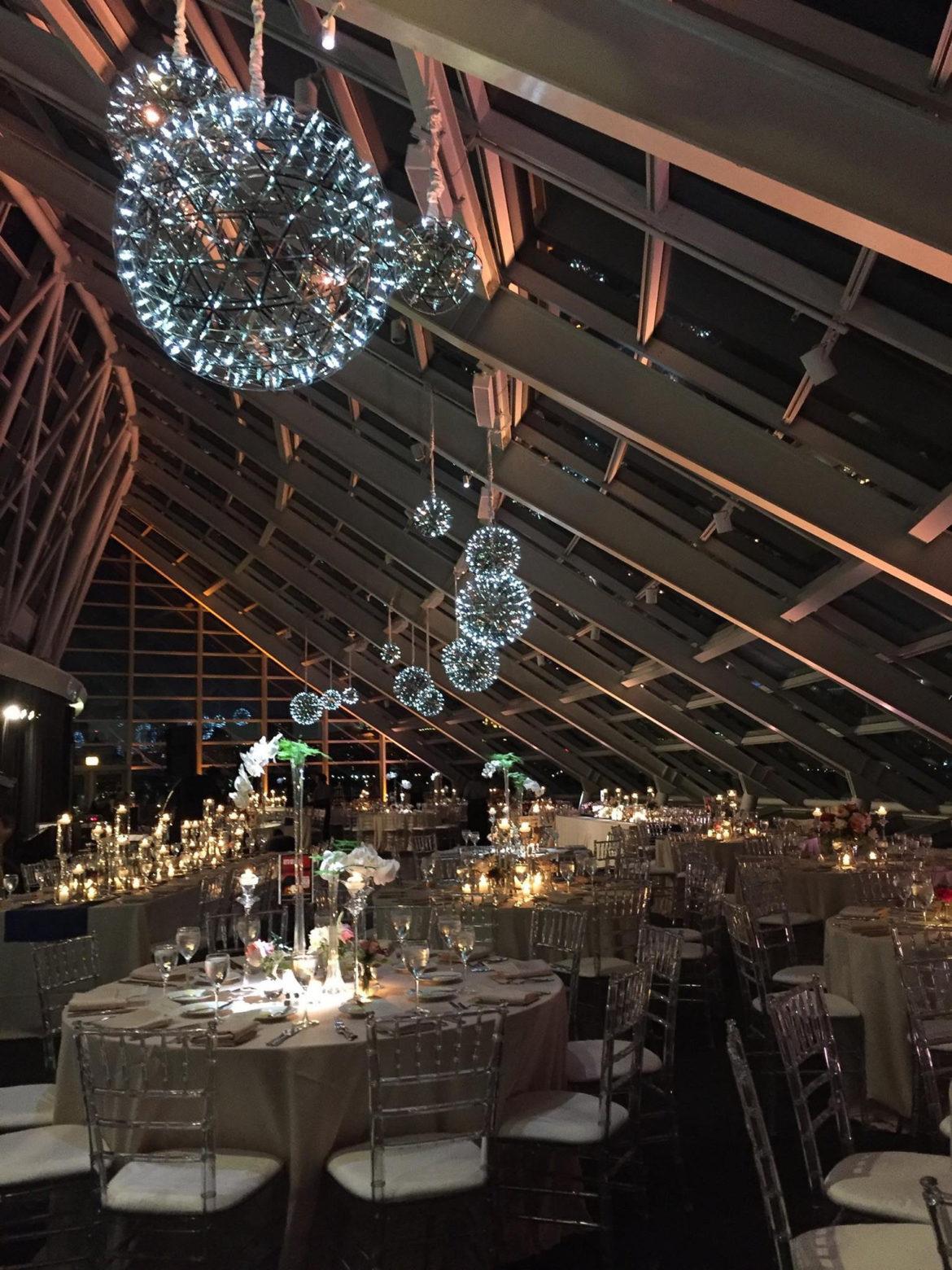 Adler Planetarium Glass Spheres