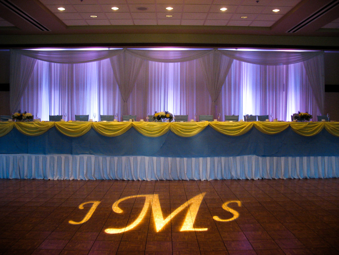 Elegant_Event_Lighting_Chicago_Arboretum_Club_Buffalo_Grove_Wedding_Reception_Illuminated_Monogram_Purple_Backdrop