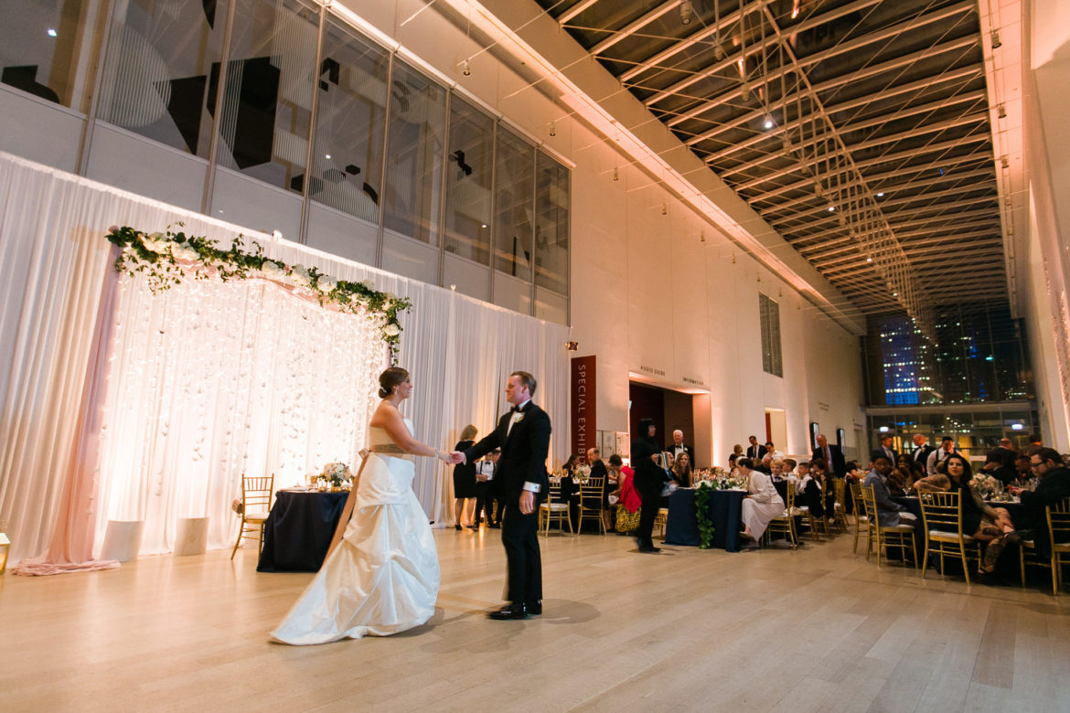 Elegant_Event_Lighting_Chicago_Art_Institute_Griffin_Courtn_Wedding_Blush_Pink_Uplighting_LED_Backdrop_White_Cranes_Reception
