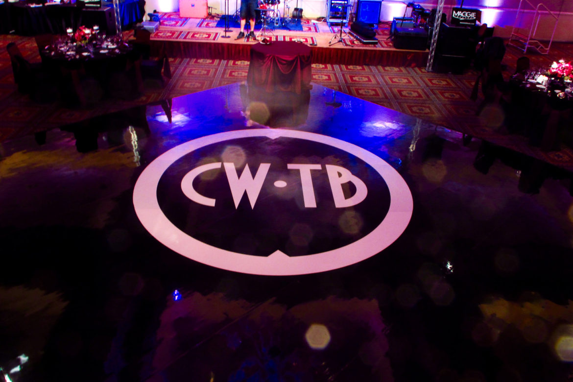 Elegant_Event_Lighting_Chicago_Bolingbrook_Golf_Club_Wedding_Dance_Floor_Black_And_White_Monogram